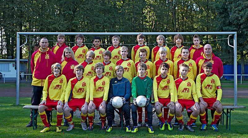 Auch der 8. Spieltag für U15 erfolgreich