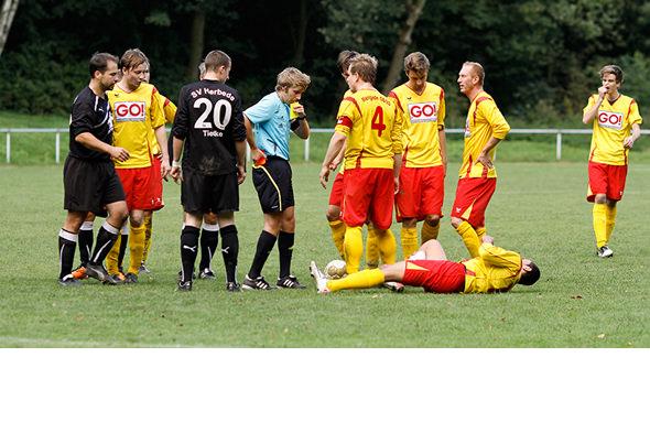 Arbeitssieg gegen Herbede – Tielker und Dieckmann schießen 08/20 zum Sieg