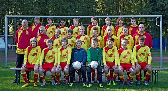 U15 gewinnt gegen TuS Eving-Lindenhorst 2:0!