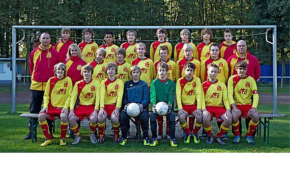 U15 gewinnt gegen ÖSG Viktoria Dortmund 7 : 0