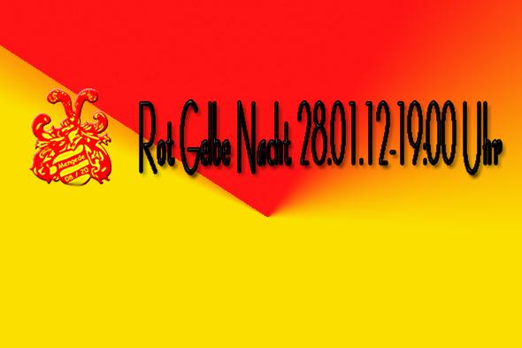 Rot-Gelbe Nacht im Mengeder Saalbau am 28.01.2012