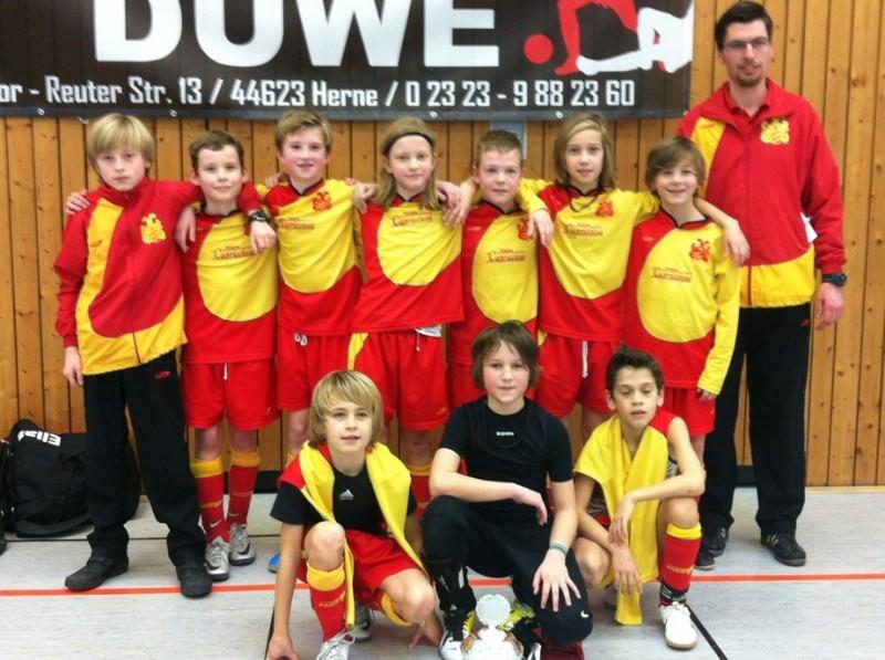 E1 gewinnt Hallenturnier des FC 96 Recklinghausen!