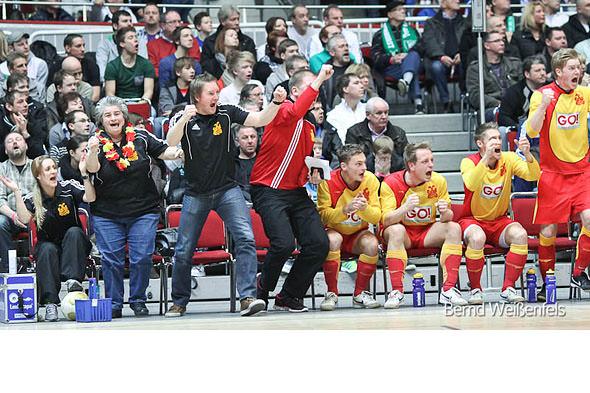 Endrunde Hallenstadtmeisterschaft: Freude über Platz 3 nach Sieg gegen Brünninghausen
