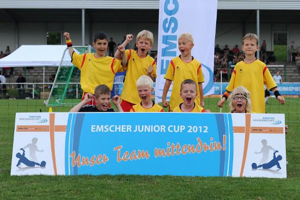 F1 in der Endrunde beim Emscher Junior Cup