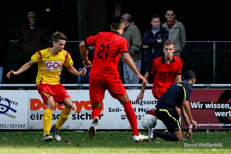 Unglückliche 2:3 Niederlage beim SV Zweckel