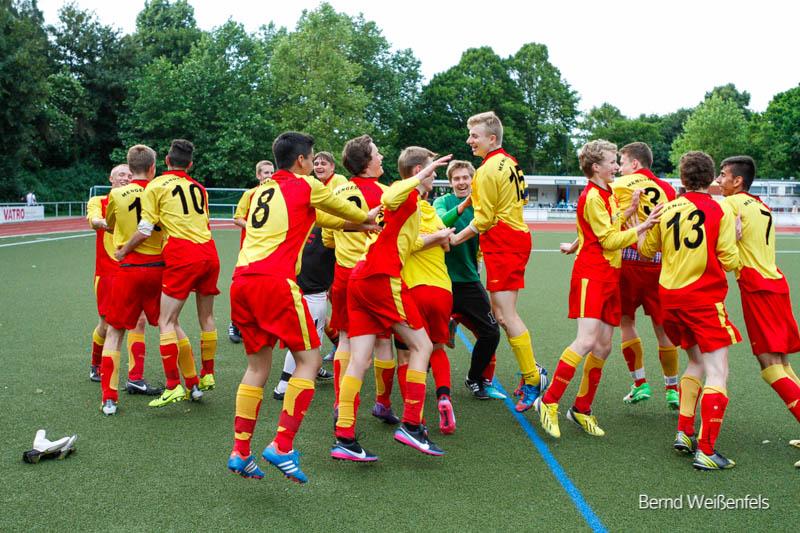 B-Jgd. gewinnt Aufstiegsspiel gegen Westfalia Wickede