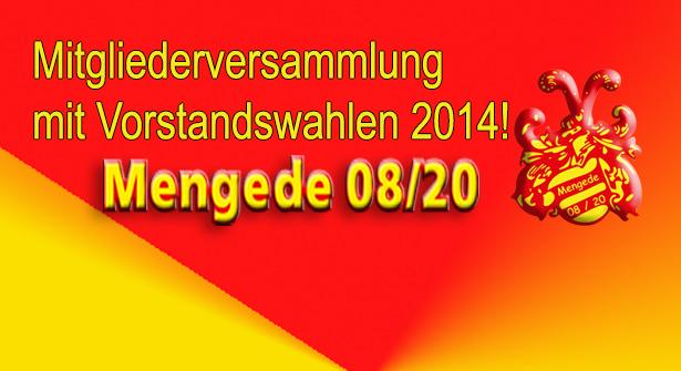 Einladung zur Mitgliederversammlung 2014!