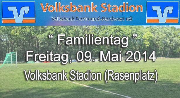 """Einladung  im """"Volksbank Stadion"""" Mengede"""