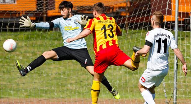 Eduard Sprenger rettet Punkt in der Nachspielzeit