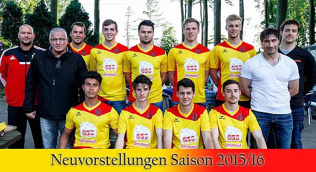 1. Mannschaft - Neuvorstellungen Saison 2015/16