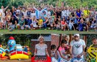 Firmen-Event im Mengeder Volksgarten!  Die Fa. Fiege Mega Center Logistik GmbH verbrachte einen geselligen, sportlichen Samstag.