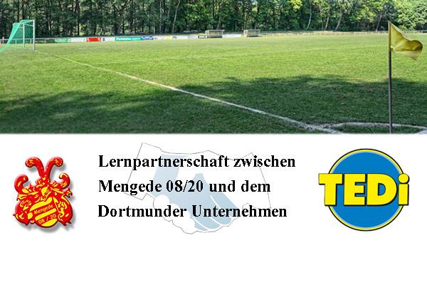 Lernpartnerschaft zwischen Mengede 08/20 und dem Dortmunder Unternehmen TEDi - Auftaktveranstaltung am 22.09.2016
