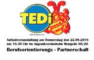 Einladung zur Berufsorientierungspartnerschaft - 22.09.2016 um 18.30 Uhr