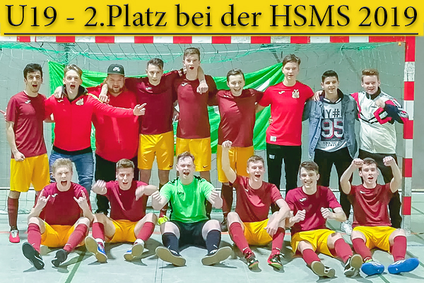 U19 wird Vizemeister bei der HSMS 2019