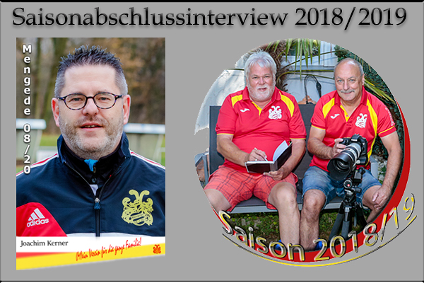 Saisonabschlussinterview mit Vereinsmanager und Sportlicher Leiter Joachim Kerner