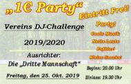 DJ-Challenge im Vereinsheim