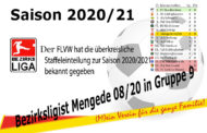 Umgruppierung für Mengede 08/20 durch den FLVW