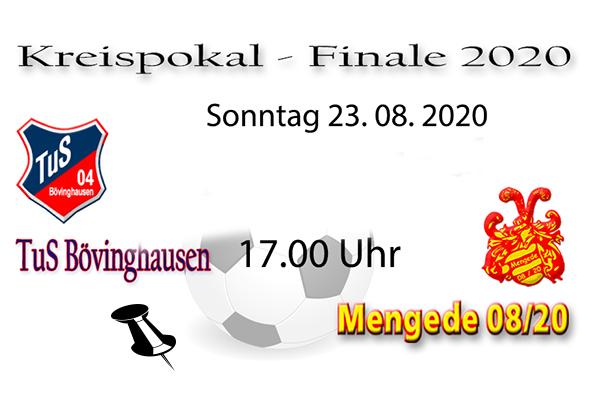 08/20 nach 10 Jahren wieder im Kreispokalfinale!!!