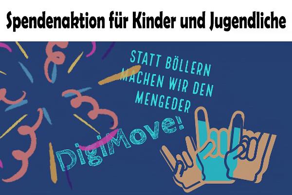 Statt Böllern: Mengede macht den DigiMove